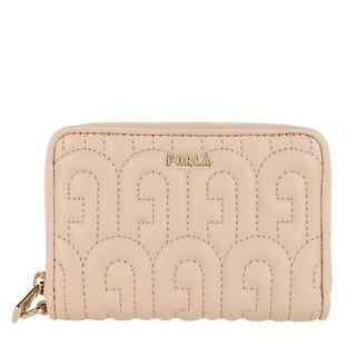 Furla - Portemonnaie - Cosy Small Zip Around Wallet Ballerina - in rosa - für Damen