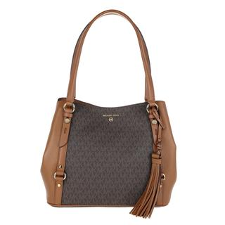 MICHAEL KORS - Satchel Bag - Large Shoulder Tote Bag Brown/Acorn - in braun - für Damen