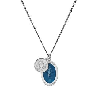 Miansai - Halskette - Men Fortuna Pendant Necklace Blue - in blau - für Damen