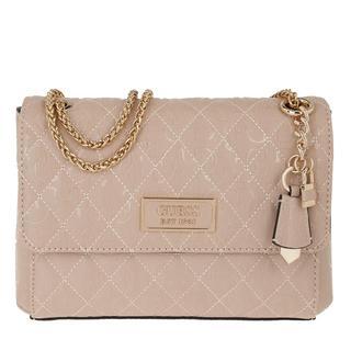 guess - Umhängetasche - Lola Convertible Flap Crossbody Rose - in rosa - für Damen