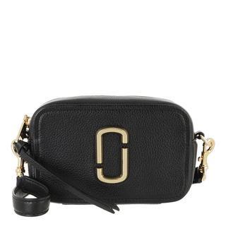 Marc Jacobs - Umhängetasche - The Soft Shot 17 Crossbody Bag Leather Black - in schwarz - für Damen