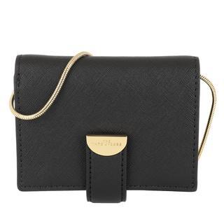 Marc Jacobs - Umhängetasche - Wallet On Chain Leather Black - in schwarz - für Damen