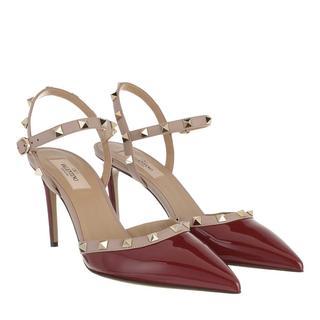 Valentino - Pumps - Sling Back Pumps Cerise/Poudre - in rot - für Damen