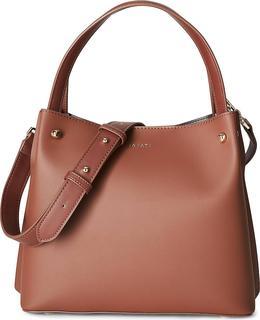 Inyati - Schultertasche Florence in dunkelbraun, Schultertaschen für Damen