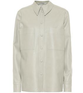 Stella Mccartney - Hemd aus Lederimitat