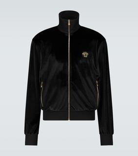 Versace - Trainingsjacke aus Samt