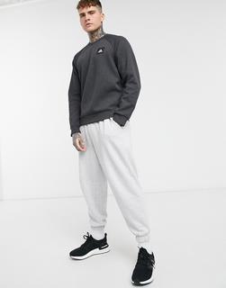 adidas Performance - adidas – Sweatshirt mit Box-Logo in Schwarz