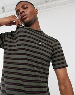 Globe - Moonshine – T-Shirt mit Military-Muster-Mehrfarbig