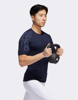 adidas Performance - adidas Training – Alphaskin – Marineblaues T-Shirt-Navy