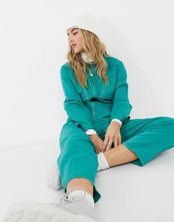 MiH Jeans - M.i.h. – Nova – Jumpsuit mit Reißverschluss vorn in Minzgrün