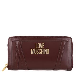 Love Moschino - Portemonnaie - Wallet Vino - in rot - für Damen