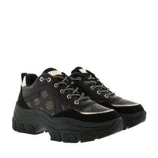 guess - Sneakers - Baryt Active Lady Leather Like Black - in schwarz - für Damen
