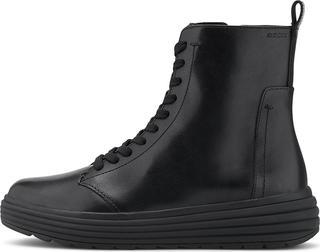 Geox - Schnür-Boots D Phaolae A in schwarz, Boots für Damen