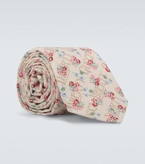 Gucci - Krawatte Gucci Liberty aus Baumwolle