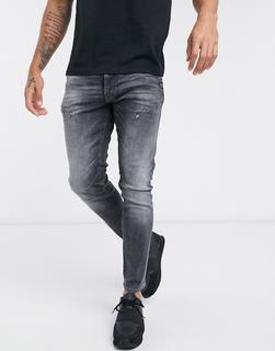 G-Star - 2 d-staq 3D – Schmal geschnittene Jeans-Blau