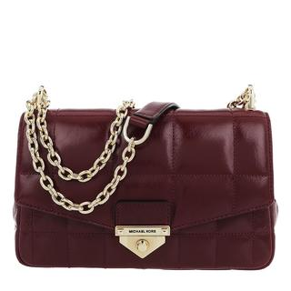 MICHAEL KORS - Umhängetasche - Soho Large Chain Shoulder  Dark Berry - in rot - für Damen