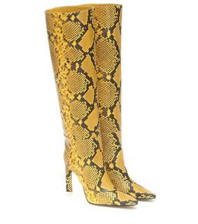 The Attico - Stiefel aus Leder