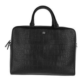 Aigner - Aktentasche - Business Bag   Black - in schwarz - für Damen