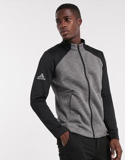 adidas Golf - adidas – Golf Cold Rdy – Jacke mit Reißverschluss in Grau