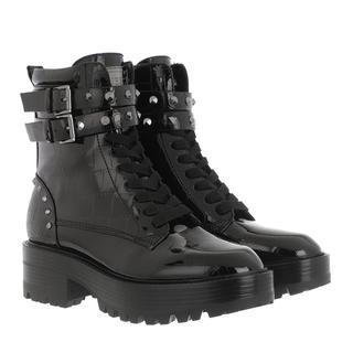 guess - Boots - Florice Boot Leather Black - in schwarz - für Damen