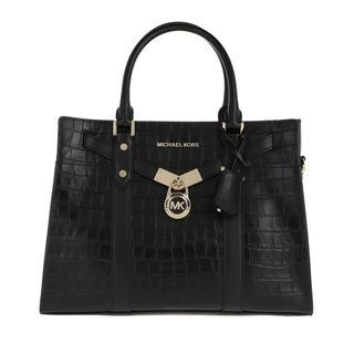 MICHAEL KORS - Tote - Nouveau Hamilton Large Satchel  Black - in schwarz - für Damen