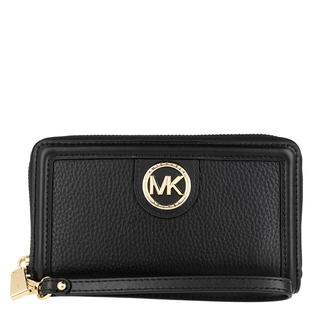 MICHAEL KORS - Portemonnaie - Large Flat Phone Case Black - in schwarz - für Damen