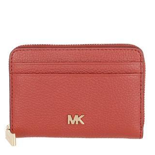 MICHAEL KORS - Portemonnaie - Coin And Card Case Terracotta - in rot - für Damen