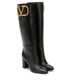 Valentino Garavani - Stiefel Supervee aus Leder