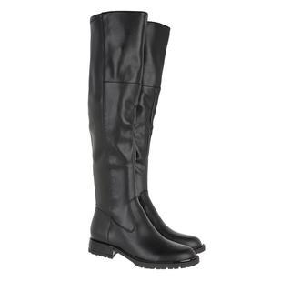 guess - Boots - Raniele High Boot Leather Black - in schwarz - für Damen