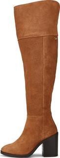 TOMMY HILFIGER - Overknee-Stiefel Modern Tommy in hellbraun, Stiefel für Damen