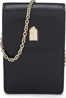 Furla - Smartphone-Tasche 1927 M in schwarz, Handyhüllen & Zubehör für Damen
