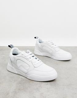 Lyle & Scott - Moncur – Sneakers mit dicker Sohle-Weiß