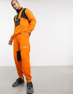 adidas Originals - Adventure – Orange Jogginghose aus Fleece