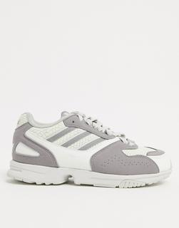 adidas Originals - ZX 400 – Sneaker in Grau-Weiß