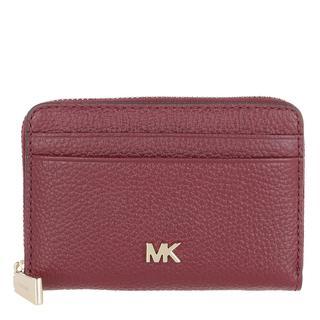 MICHAEL KORS - Portemonnaie - Coin And Card Case Dark Berry - in rot - für Damen