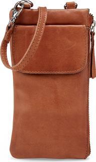 COX - Smartphone-Tasche in mittelbraun, Handyhüllen & Zubehör für Damen