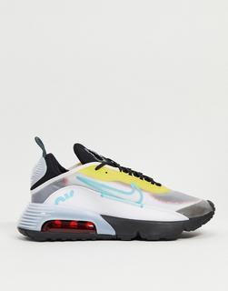 Nike - Air Max 2090 – Sneaker in Weiß/Aqua