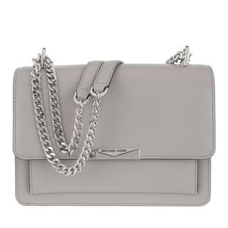 MICHAEL KORS - Satchel Bag - Large Gusset Shoulder Bag Pearl Grey - in grau - für Damen