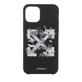 Off-White - Smartphone Case - Birds 11Pro Cover  Black Grey - in schwarz - für Damen