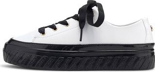 TOMMY HILFIGER - Sneaker Shiny Flatform in weiß, Sneaker für Damen