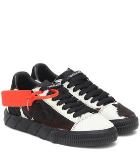 Off-White - Sneakers Low Vulcanized aus Leder