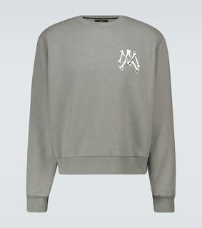 Amiri - Sweatshirt Bones MA aus Baumwolle