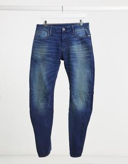 G-Star - Arc 3D – Schmal geschnittene Jeans in mittlerer Waschung-Blau - 116.93 €