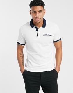 Selected Homme - Patterson – Polohemd mit Print-Beige