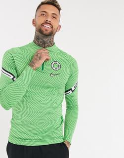 Nike Football - Nigeria – Grünes Trainingsoberteil