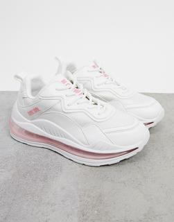 Nokwol - Active – Sneaker in Weiß/Rosa