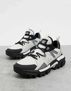 Cat Footwear - CAT – Raider – Sneaker mit dicker Sohle in Weiß-Bunt