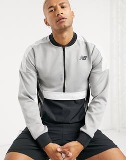 new balance - Running – Graues Sweatshirt