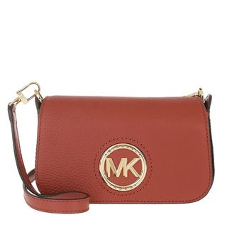 MICHAEL KORS - Umhängetasche - Samira Small Convertible Crossbody Bag Terracotta - in rot - für Damen