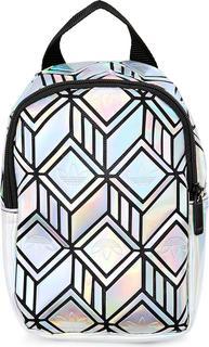 adidas Originals - Rucksack Mini 3d in silber, Rucksäcke für Damen